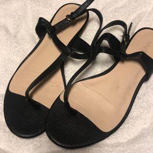 Mini Gold Heel Sandals